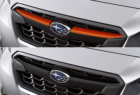 <sg-lang1>Front Grille Winglet (Black/Orange)</sg-lang1><sg-lang2></sg-lang2><sg-lang3></sg-lang3>